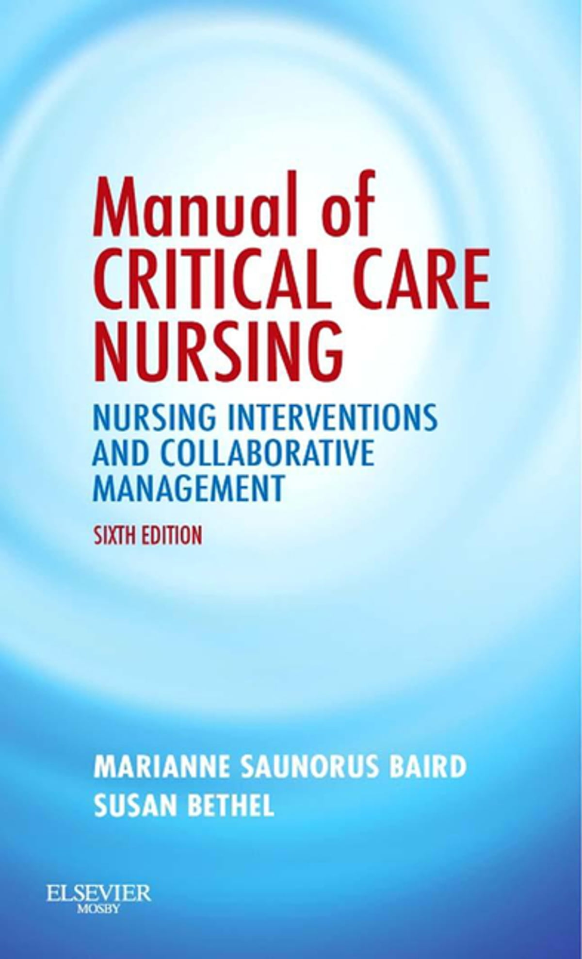 Critical Care Nursing Ebook