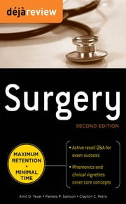 Deja Review Surgery, 2nd Edition ebook by Amit Tevar