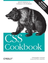 CSS Cookbook ebook by Christopher Schmitt
