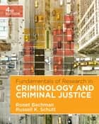 Fundamentals of Research in Criminology and Criminal Justice ebook by Ronet D. Bachman,Russell K. Schutt