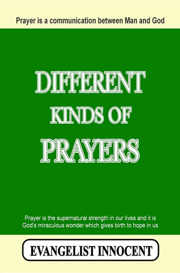 Different Kinds Of Prayers
