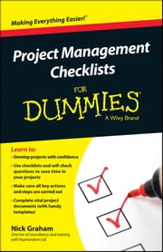 Project Management Checklists For Dummies ebook by Nick Graham