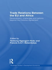 Trade Relations Between the EU and Africa - Development, Challenges and Options Beyond the Cotonou Agreement ebook by Yenkong Ngangjoh-Hodu,Francis A.S.T. Matambalya