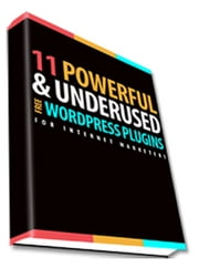 11 Powerful WordPress Plugins For Internet Marketers ebook by Sven Hyltén-Cavallius