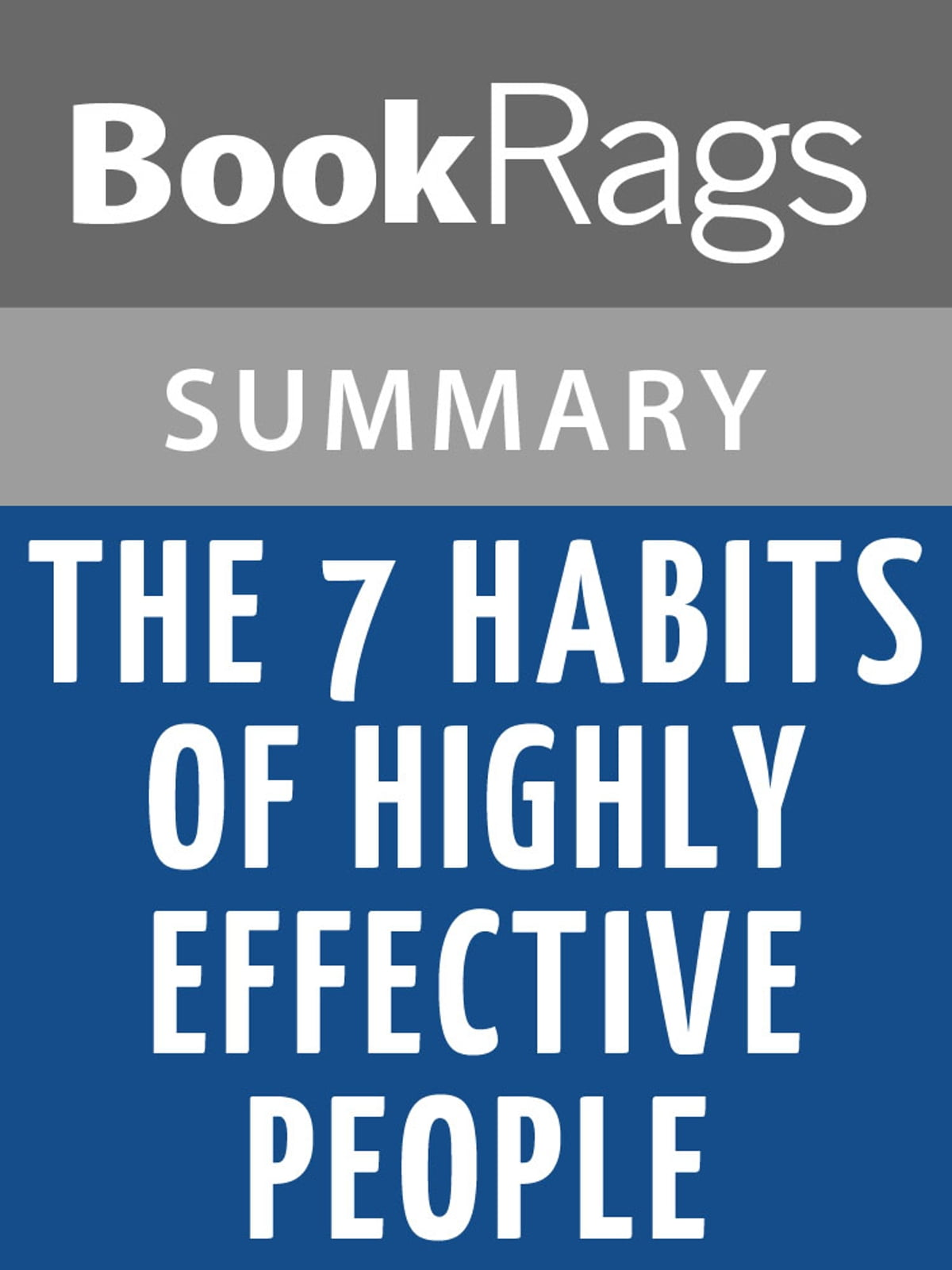 The 7 Habits of Highly Effective People by Stephen R. Covey l ...