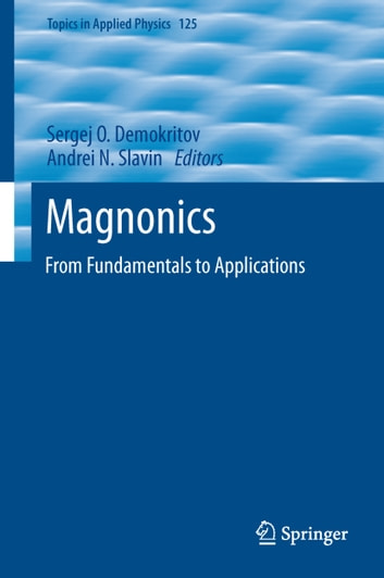 Magnonics - From Fundamentals to Applications ebook by