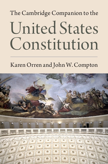 The Cambridge Companion to the United States Constitution ebook by