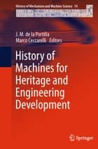 History of Machines for Heritage and Engineering Development ebook by J. M. de la Portilla, Marco Ceccarelli