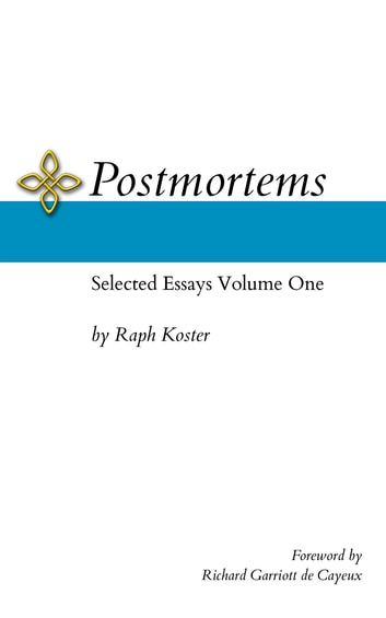 Postmortems eBook by Raph Koster - 9780996793735 | Rakuten Kobo