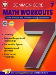 Common Core Math Workouts, Grade 7 ebook by Kobo.Web.Store.Products.Fields.ContributorFieldViewModel