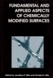 Fundamental and Applied Aspects of Chemically Modified Surfaces ebook by Blitz, J P