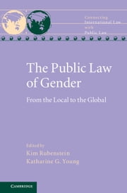 The Public Law of Gender - From the Local to the Global ebook by Kim Rubenstein,Katharine G. Young