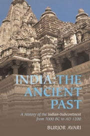 India: The Ancient Past - A History of the Indian Sub-Continent from c. 7000 BC to AD 1200 ebook by Burjor Avari