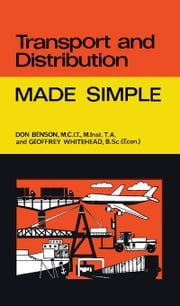 Transport and Distribution: Made Simple ebook by Benson, Don