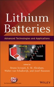 Lithium Batteries - Advanced Technologies and Applications ebook by Bruno Scrosati,K. M. Abraham,Walter A. van Schalkwijk,Jusef Hassoun