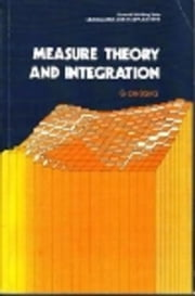 Measure theory and Integration ebook by De Barra, G