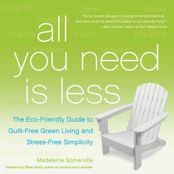 All You Need Is Less - The Eco-friendly Guide to Guilt-Free Green Living and Stress-Free Simplicity ebook by Madeleine Somerville