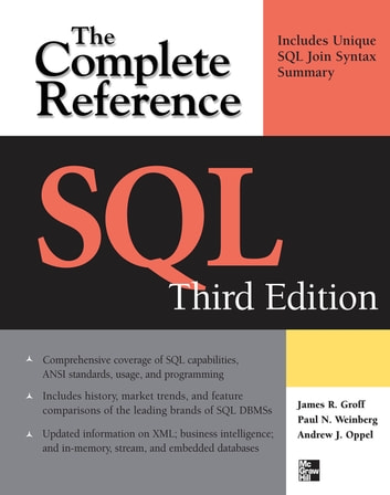 SQL The Complete Reference, 3rd Edition ebook by Andy Oppel,James R Groff,Paul N. Weinberg