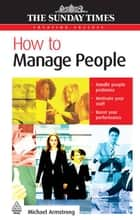 How to Manage People ebook by Michael Armstrong