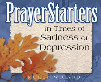 PrayerStarters in Times of Sadness or Depression ebook by Molly Wigand