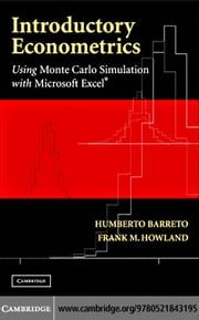 Introductory Econometrics ebook by Barreto, Humberto