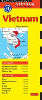 Vietnam Travel Map Eighth Edition ebook by Periplus Editors