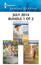 Harlequin Special Edition July 2014 - Bundle 1 of 2 - Million-Dollar Maverick\The Bachelor's Brighton Valley Bride\A Bride by Summer ebook by Christine Rimmer, Judy Duarte, Sandra Steffen