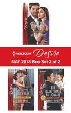 Harlequin Desire May 2018 - Box Set 2 of 2 - The Twin Birthright\Reunited...with Baby\The Illegitimate Billionaire ekitaplar by Barbara Dunlop, Sara Orwig, Catherine Mann