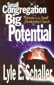 Small Congregation, Big Potential - Ministry in the Small Membership Church ebook by Lyle E Schaller