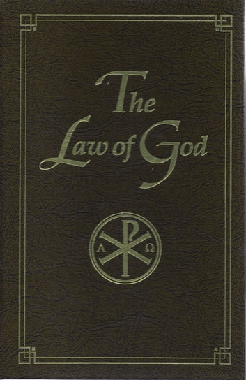 Law of God - For Study at Home and School ebook by Seraphim Slobodskoi