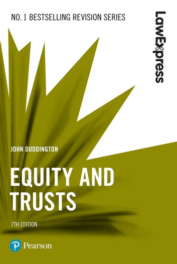 Law Express: Equity and Trusts ebook by John Duddington