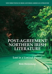 Post-Agreement Northern Irish Literature - Lost in a Liminal Space? ebook by Birte Heidemann