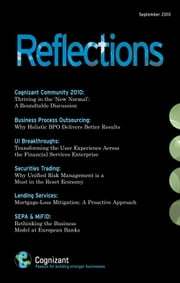 Reflections Journal Issue 1 - A Journal for the Banking & Financial Services Industry ebook by Anshuman Choudhary,Ashish Shreni,Nate Longfellow,Ramesh Ramani,Rao Peddada,Sanjay Bhanot,Siva Visveswaran,Sudhir Gupta