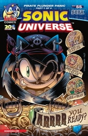 Sonic Universe #55 ebook by Tracy Yardley!, Jim Amash, Thomas Mason
