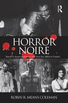Horror Noire ebook by Robin R Means Coleman