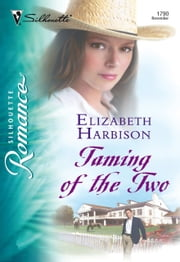 Taming of the Two (Mills & Boon Silhouette) ebook by Elizabeth Harbison
