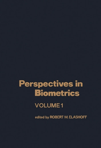Perspectives in Biometrics ebook by