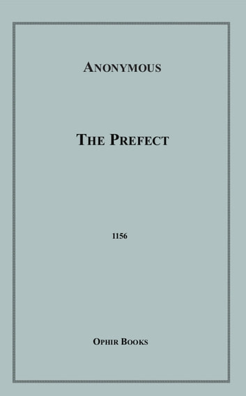 The Prefect ebook by Anon Anonymous