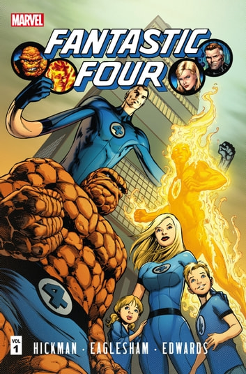 Fantastic Four by Jonathan Hickman Vol. 1 ebook by Jonathan Hickman