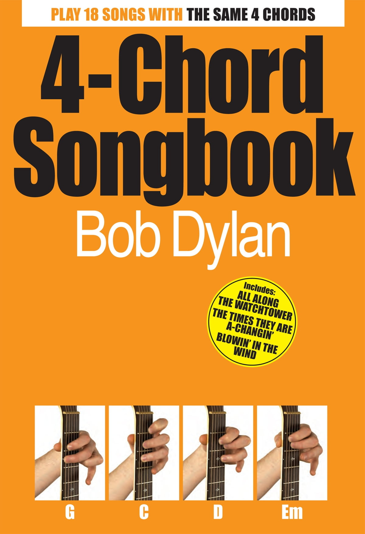 4 Chord Songbook Bob Dylan Ebook De Wise Publications