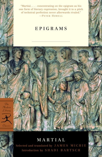 Epigrams ebook by Martial