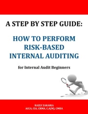 A Step By Step Guide: How to Perform Risk Based Internal Auditing for Internal Audit Beginners ebook by RAZLY ZAKARIA