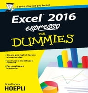 Excel 2016 espresso For Dummies ebook by Greg Harvey