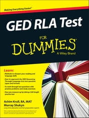 GED RLA For Dummies ebook by Achim K. Krull,Murray Shukyn