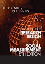Handbook of Research Design and Social Measurement ebook by