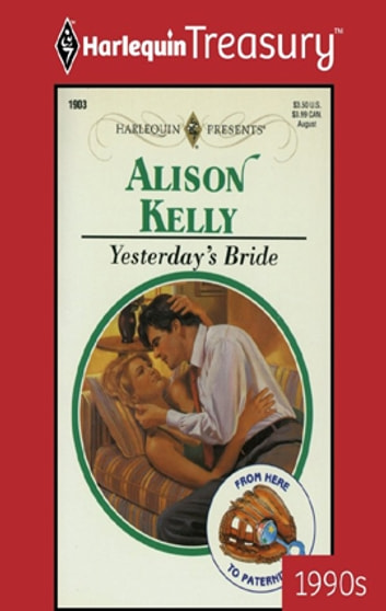 Yesterday's Bride ebook by Alison Kelly