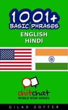 1001+ Basic Phrases English - Hindi ebook by Gilad Soffer