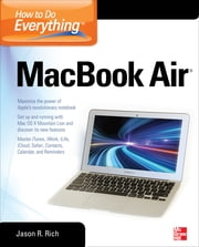 How to Do Everything MacBook Air ebook by Jason Rich