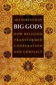 Big Gods - How Religion Transformed Cooperation and Conflict ebook by Ara Norenzayan