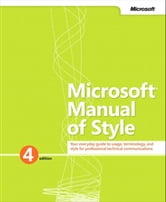 Microsoft Manual of Style ebook by Microsoft Corporation
